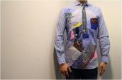 【BC原宿 竹下通り店】CDG JUNYA WATANABE  MAN(コムデギャルソン ジュンヤワタナベマン) 16SS現行販売品 パッチワークシャツ買取入荷!:画像1