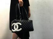 【BC原宿竹下通り店】CHANEL(シャネル) カンボン ボーリングバッグ 買取入荷!!:画像1