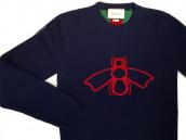 【BC原宿 竹下通り店】GUCCI(グッチ) 16AW Bee and Web Jacquard Wool Sweater クルーネックニット 買取入荷!!:画像1