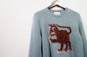 【BC原宿竹下通り店】GUCCI(グッチ)16SS Tiger-Intarsia Wool Sweater買取入荷しました!!!:画像1