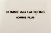 COMMES GARCONS HOMME PLUS(コムデギャルソンオムプリュス)からコレクションでも使用されたアイテムが入荷!!:画像1
