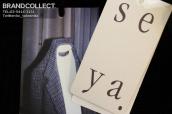「一番着たい服」として呼び声高い上質なライフスタイルウェア、Seya(セヤ)のアイテムが入荷いたしました。:画像1