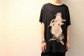 Yohji Yamamoto POUR HOMME(ヨウジヤマモトプールオム)より、BIG丸首半袖ハット女プリントTシャツをお買取りさせていただきました。:画像1