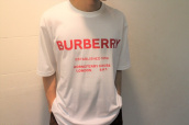 Burberry(バーバリー)2019ssよりロゴTシャツをお買取りさせていてだきました。:画像1