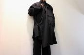 YOHJIYMAMOTO POURHOMME(ヨウジヤマモトプールオム)より2017SSのシワギャバ袈裟コートをお買取りさせていただきました。:画像1