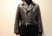 noir kei ninomiya(ノアール ケイ ニノミヤ)よりホースレザーライダースジャケットをお買取りさせて頂きました!:画像1