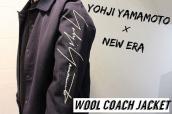 YOHJI YAMAMOTO×NEW ERA(ヨウジヤマモト×ニューエラ)から、Wool Coach Jacket(ウールコーチジャケット)をお買取りさせていただきました!:画像1