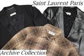 【大量入荷】Saint Laurent Paris(サンローランパリ)から、希少なアーカイブアイテムをお買取りさせていただきました!:画像1