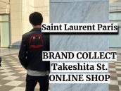 【竹下通り店オンラインショップ特集】第2弾は人気のSAINT LAURENT PARIS(サンローランパリ)をピックアップ!:画像1