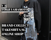 【竹下通り店オンラインショップ特集】第7弾はYOHJI YAMAMOTO・Y-3をピックアップ!:画像1