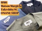 【竹下通り店オンラインショップ特集】第45弾ご好評につきMM6 Maison Margielaをまたまたご紹介します♪:画像1