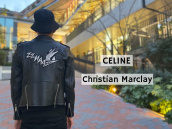 【新着入荷】CELINE×Christian Marclay 19SS「ZZHAA ZOW」クラシックバイカージャケットが入荷しました。:画像1