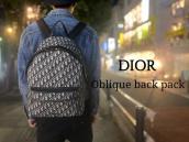 【新着入荷】DIORを象徴するオブリークのバックパックが入荷致しました。:画像1