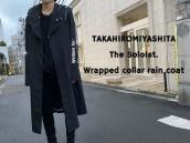 【新着入荷】TAKAHIROMIYASHITA TheSoloIst.のWrapped collar rain coatが入荷致しました。:画像1