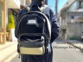 【新着入荷】Maison MargielaのDécortiqué レザー×PVCバックパックが入荷致しました。:画像1