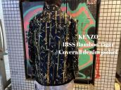 【新着入荷】KENZOより18SS Bamboo Tiger Coverall denim jacketが入荷致しました。:画像1