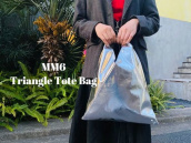 【新着入荷】MM6よりジャパニーズトライアングルトートバッグ入荷のお知らせ。:画像1
