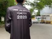 【新着入荷】COMME des GARCONS HOMME PLUSの20SS スタッフコートが入荷致しました。:画像1