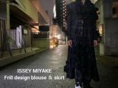 【新着入荷】ISSEY MIYAKEのフリルデザインブラウス&スカートが入荷致しました。:画像1