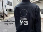 【新着入荷】Y-3のU Stacked Logo Long Shirtが入荷致しました。:画像1