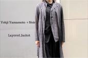 【新着入荷】買取イベント対象ブランドYohji Yamamoto+noirのレイヤードジャケットが入荷致しました。:画像1