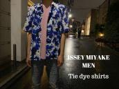【新着入荷】ISSEY MIYAKE MENのタイダイシャツが入荷致しました。:画像1