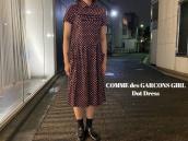 【新着入荷】買取イベント対象ブランドCOMME des GARCONS GIRLのドットワンピースが入荷致しました。:画像1