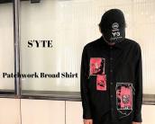 【新着入荷】S'YTEのパッチワークブロードシャツが入荷致しました。:画像1