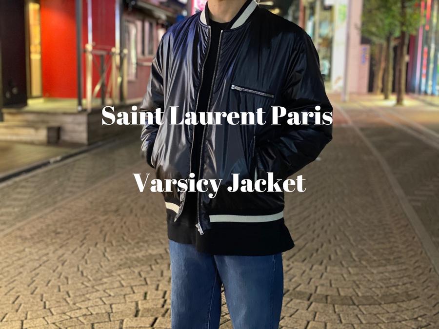 【新着入荷】買取イベント対象ブランドSaint Laurent Paris の19AW バーシティジャケットが入荷致しました。:画像1