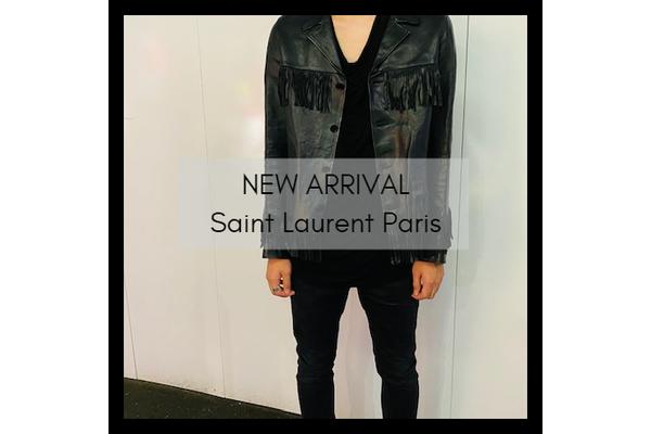 Saint Laurent Parisのフリンジレザージャケットが竹下通り店に入荷致しました。:画像1