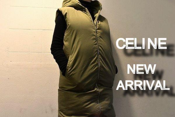 CELINE(セリーヌ)のフィービー期のアイテムから、ノースリーブダウンコートをお買取りさせていただきました!!