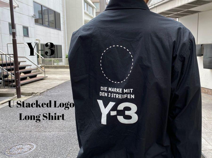 【新着入荷】Y-3のU Stacked Logo Long Shirtが入荷致しました。