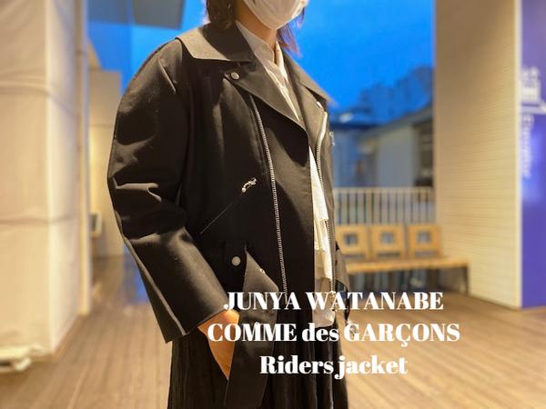 【新着入荷】JUNYA WATANABE COMME des GARÇONSのライダースジャケットが入荷致しました。