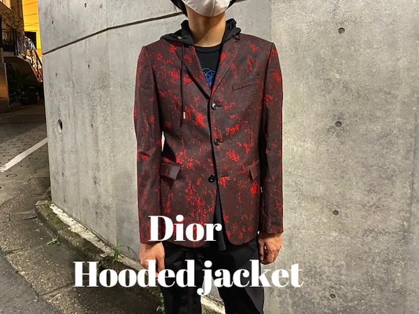 【新着入荷】Diorのフーデッドジャケットが入荷致しました。