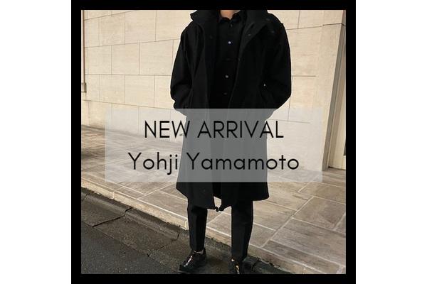 Yohji YamamotoのI-ファスナーモッズコートが竹下通り店に入荷致しました。