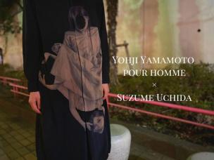 【新着入荷】アート作品を着る Yohji Yamamoto 20SS UCHIDA Print long shirt入荷致しました。
