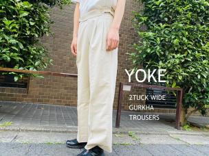 入荷情報YOKE