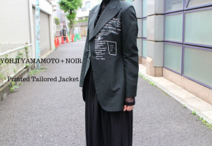 Yohji Yamamoto+Noirヨウジヤマモトプリュスノアール
