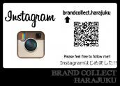 【原宿店】ブランドコレクト原宿店!Instagram(インスタグラム)はじめました!:画像1