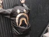 【BC原宿店】APE BLACK GOLD(アベイジングエイプ) MA-1 DOVER STREET MARKET 限定アイテムを奇跡の入荷!:画像1