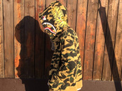 【BC原宿店】A BATHING APE (アベイジングエイプ) 15AW人気のカモ柄シャークパーカー 買取入荷!!:画像1