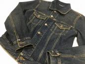 【BC原宿店】SAINT LAURENT PARIS(サンローランパリ) オリジナルジーンズジャケット:画像1