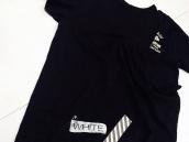 【BC原宿店】 16SS Off-White(オフホワイト)プリントアシンメトリーTシャツ買取入荷!:画像1