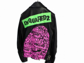 [新入荷情報] 19SS DSQUARED2 PRINTED LEATHER JACKET入荷!!!:画像1