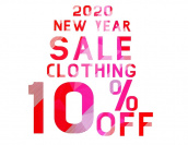 2020年もやっちゃいます! NEW YEAR SALE 開催!!!!:画像1