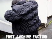 韓国の新鋭ブランドPOST ARCHIVE FACTION(ポストアーカイブファクション)買取致しました!!:画像1