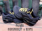 「MIZUNO」×「HIGHSNOBIETY」×「BEAMS」トリプルネームコラボスニーカー買取致しました!!!:画像1