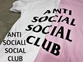 【女性にもおすすめな1着!!!】Anti Social Social ClubからTシャツ入荷!!:画像1