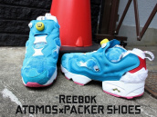 【ドラえもん!!】REEBOK(リーボック) x PACKER SHOES(パッカーシューズ) x ATMOS(アトモス) のコラボスニーカー買取致しました!!:画像1