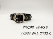 【女性の方は必見!】CHROME HEARTS(クロムハーツ)からCROSS BALL CHOKER入荷!!!:画像1